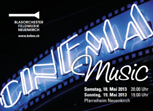 Flyer Cinema Music 2013