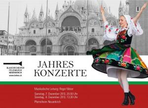 Flyer Jahreskonzerte 2013