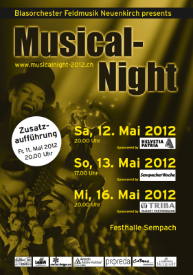 Flyer Musical-Night 2012