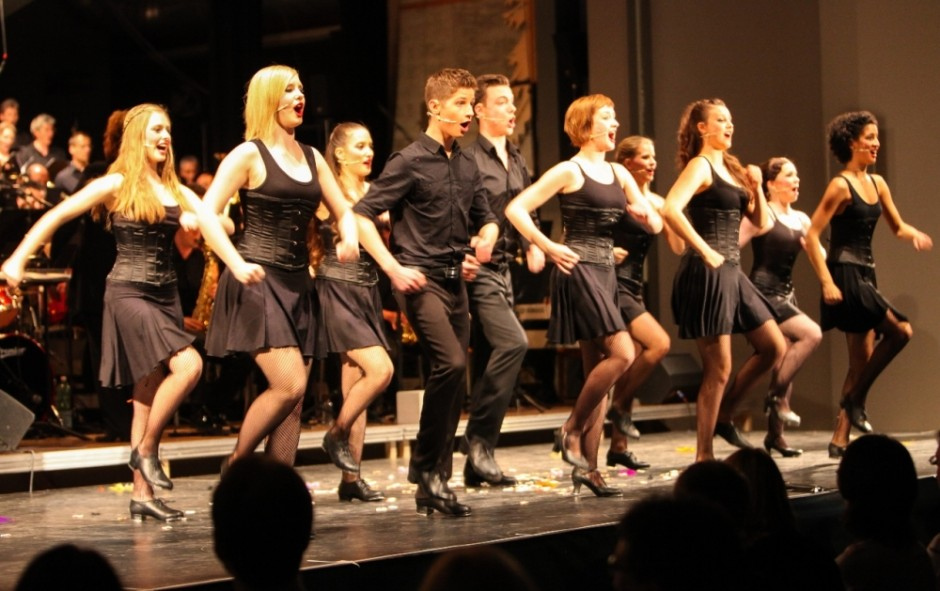 Steptanz Ensemble der Musical Factory