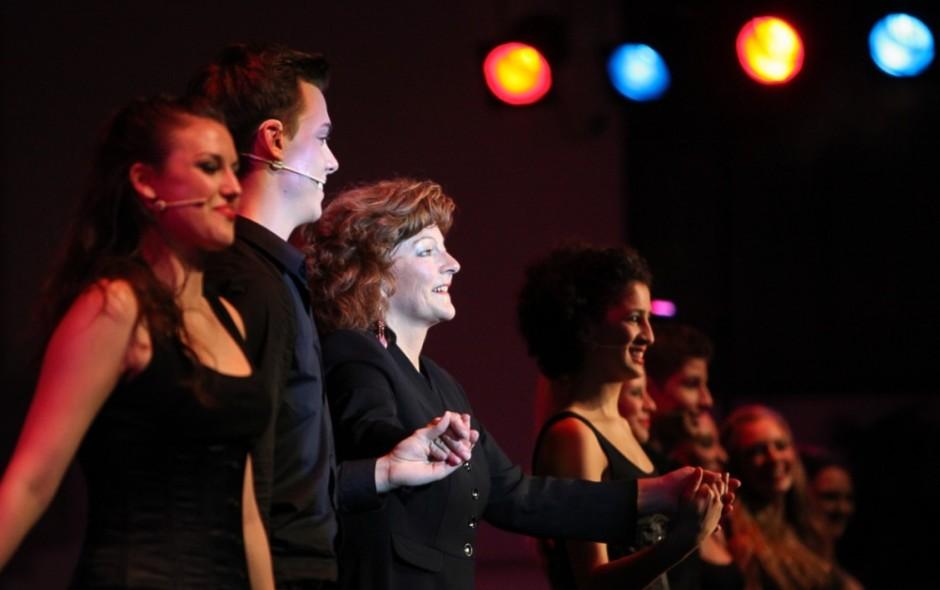 Solistinnen Brigitte Jost und Dominique Lüthi mit Isabelle Ruf-Weber