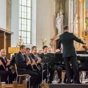 Blasorchester Feldmusik Neuenkirch mit dem neuen Anzug