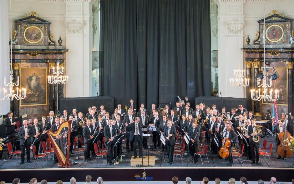 Auftritt am Luzerner Kantonal Musikfest 2015 in Sempach