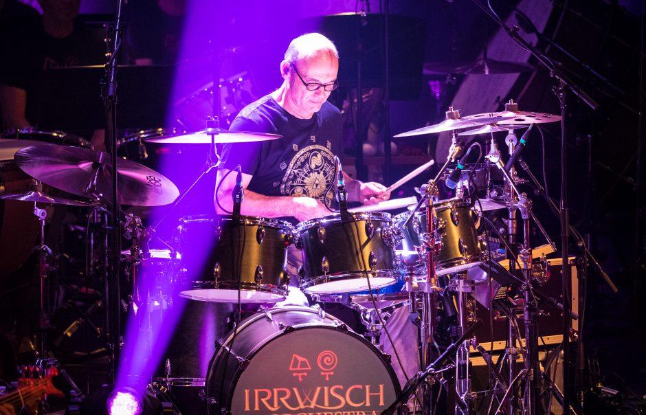 Irrwisch Drummer Josef Kissling. Foto: Thomas Moor.