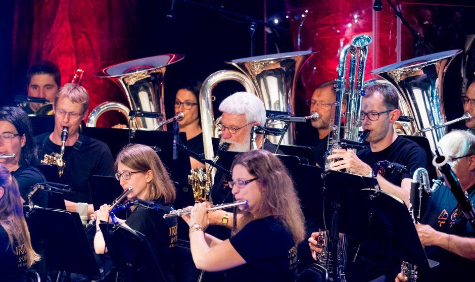 Blasorchester Feldmusik Neuenkirch. Foto: Thomas Moor.