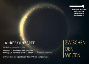 Flyer Jahreskonzert 2019